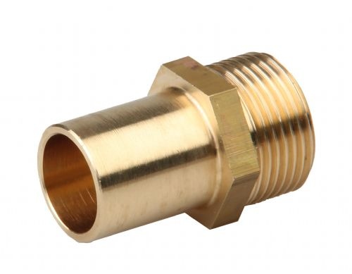 Smooth tube adaptor DN20 x 22mm